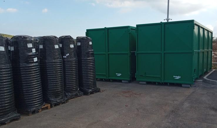Nabavljeni  rolo kontejneri  i  komposteri